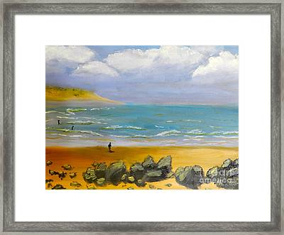Corrimal Beach Framed Print