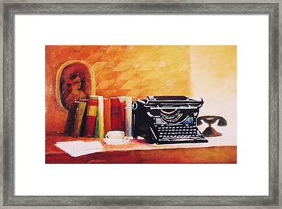 Corrispondance  Framed Print