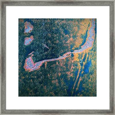 Corrosion Of Framed Print