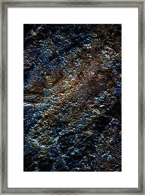 Pump Jack Corrosion 1 Framed Print by Tabitha Williams