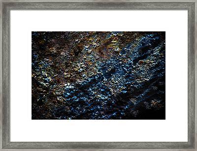 Pump Jack Corrosion 2 Framed Print by Tabitha Williams