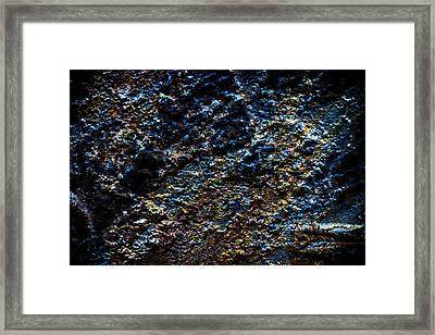 Pump Jack Corrosion 3 Framed Print by Tabitha Williams