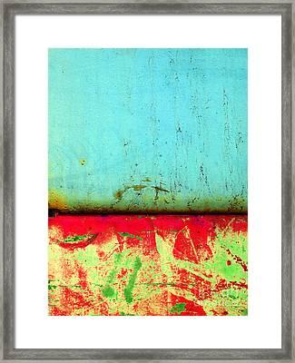 Corrosion Framed Print by Tara Turner