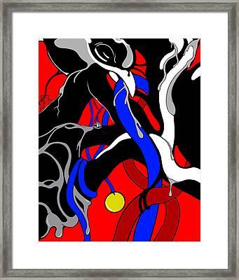 Corrosive Framed Print