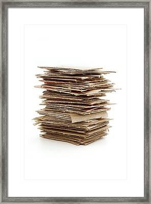Corrugated Fiberboard Framed Print by Fabrizio Troiani