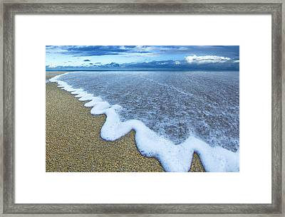 Corrugated Foam Framed Print