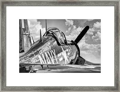 Corsair At Rest Framed Print