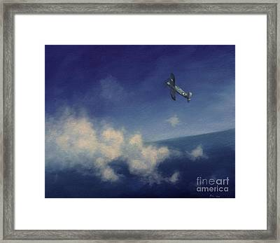 Framed Print featuring the painting Corsair by Stephen Roberson