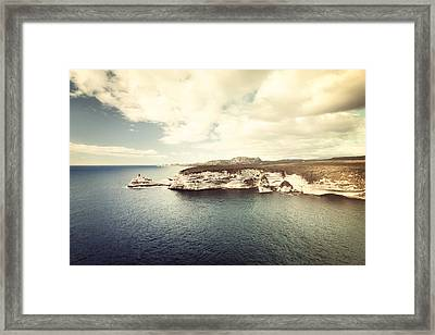 Framed Print featuring the photograph Corsica Winter by Philippe Sainte-Laudy