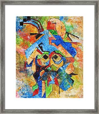 Cortes 748 - Marucii Framed Print