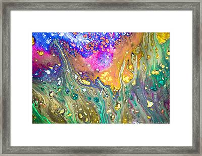 Cortical Framed Print by Jacob Brewer