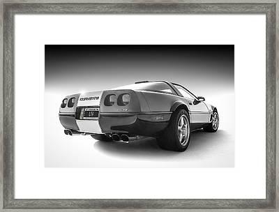 Corvette C4 Framed Print