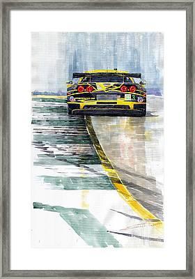 Corvette C6 Framed Print by Yuriy Shevchuk