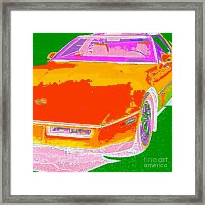 Corvette Dreams Framed Print by James Eye