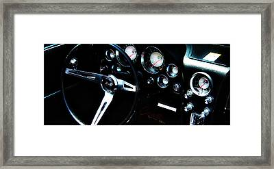 Framed Print featuring the photograph Corvette Stingray by Aaron Berg