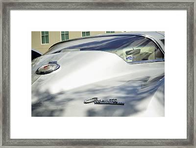 Corvette Stingray Framed Print by Andres LaBrada
