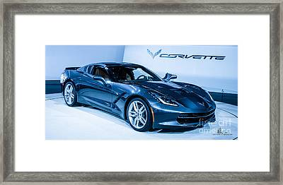 Corvette Stingray Framed Print