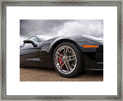 Corvette Z06 Framed Print by Gill Billington