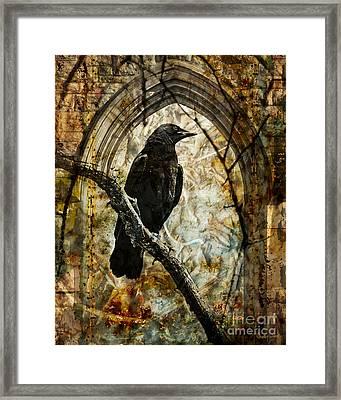 Corvid Arch Framed Print by Judy Wood