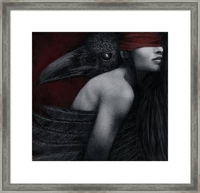 Corvidae Framed Print