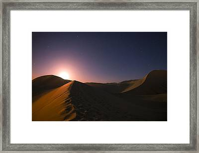 Cosine Framed Print by Aaron Bedell