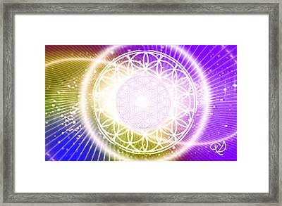 Cosmic Adjustment Framed Print