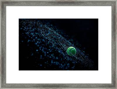 Cosmic Ball Framed Print by Joe Conroy