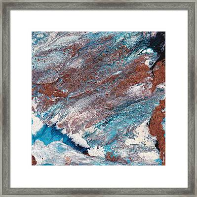 Cosmic Blend Three Framed Print by M West