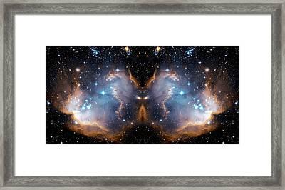 Cosmic Butterfly Framed Print by Jennifer Rondinelli Reilly - Fine Art Photography