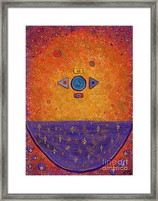 Cosmic Cauldron Framed Print by Tharsis Artworks