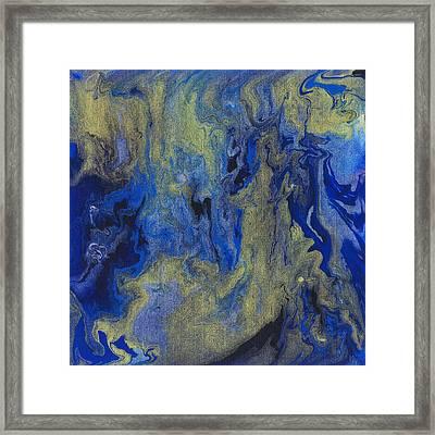 Cosmic Coalescence Framed Print by Maxwell Hanson