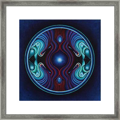Cosmic Conception Framed Print by Erik Grind
