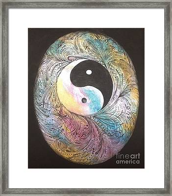 Cosmic Conception Framed Print