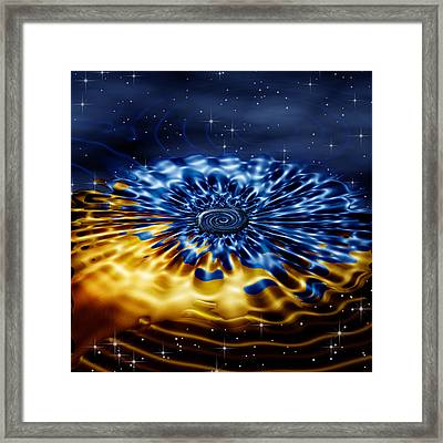 Cosmic Confection Framed Print