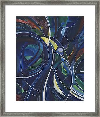 Cosmic Dawn Framed Print