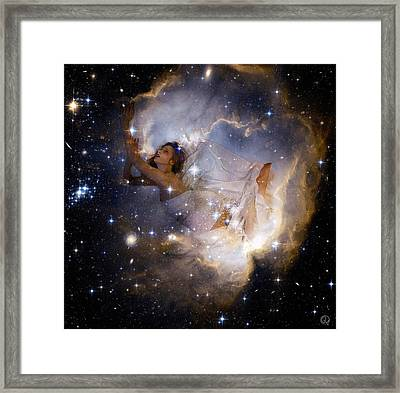 Cosmic Dream Framed Print by Gun Legler