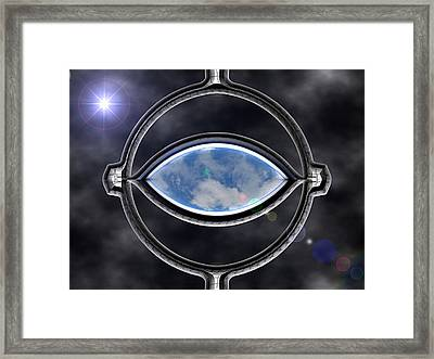 Cosmic Dream Framed Print by Wendy J St Christopher