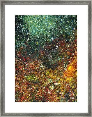 Cosmic Energy Framed Print