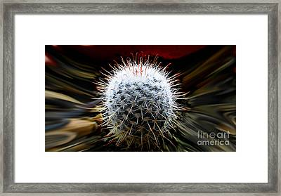 Cosmic Explosion Framed Print by Al Bourassa