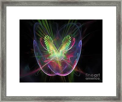 Cosmic Flight Framed Print by Peter R Nicholls