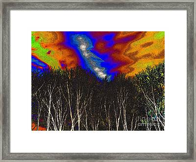 Cosmic Forces Framed Print by Robyn King
