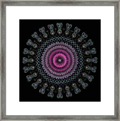 Cosmic Hug Framed Print