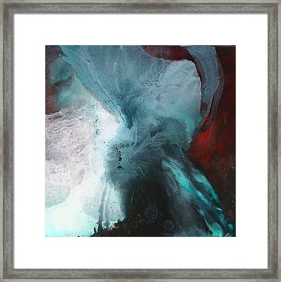 Cosmic Impact Framed Print by Lissa Bockrath