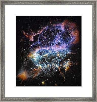 Cosmic Infinity 2 Framed Print by Jennifer Rondinelli Reilly - Fine Art Photography