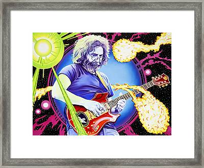 Cosmic Jerry Framed Print by Joshua Morton