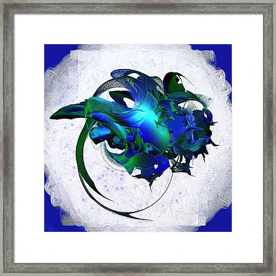 Cosmic Jewels On A Cloud Framed Print by Linda Phelps