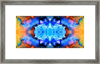 Cosmic Kaleidoscope 1 Framed Print by Jennifer Rondinelli Reilly - Fine Art Photography
