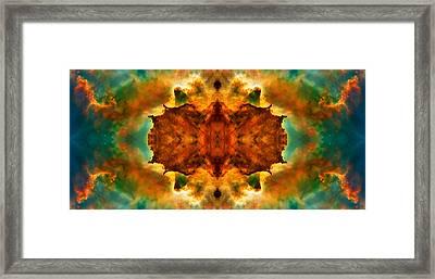 Cosmic Kaleidoscope 2  Framed Print by Jennifer Rondinelli Reilly - Fine Art Photography