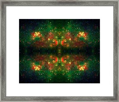 Cosmic Kaleidoscope 3 Framed Print by Jennifer Rondinelli Reilly - Fine Art Photography