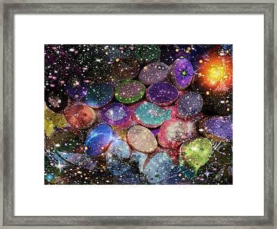 Cosmic Ovule Framed Print